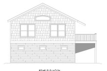 Country Exterior - Rear Elevation Plan #932-253
