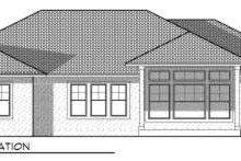 Dream House Plan - Mediterranean Exterior - Rear Elevation Plan #70-718