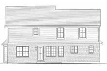 Traditional Exterior - Rear Elevation Plan #46-495