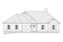 House Plan Design - B/W elevation