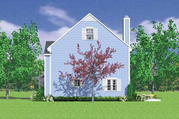 Country Floor Plan - Other Floor Plan Plan #72-1105