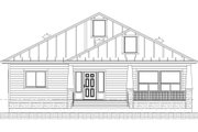 Farmhouse Style House Plan - 2 Beds 3 Baths 1540 Sq/Ft Plan #1077-5 Exterior - Front Elevation