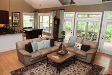 Dream House Plan - Ranch Interior - Family Room Plan #929-745