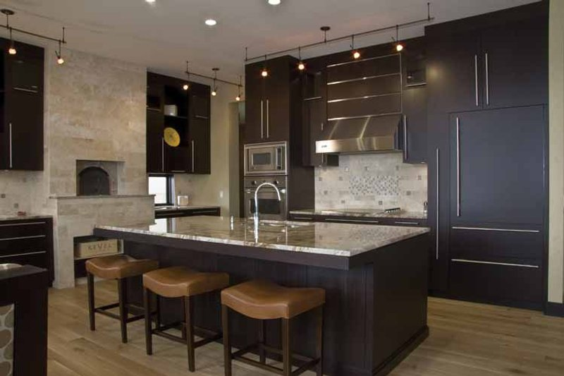 Contemporary Interior - Kitchen Plan #928-67 - Houseplans.com
