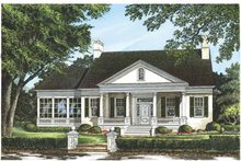 House Plan Design - Classical Exterior - Front Elevation Plan #137-315