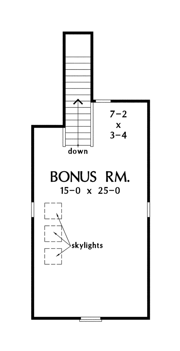 House Plan Design - Traditional Floor Plan - Other Floor Plan #929-959
