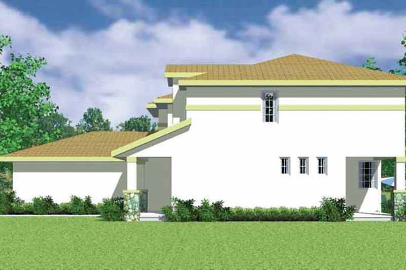 House Blueprint - Prairie Exterior - Other Elevation Plan #72-1134