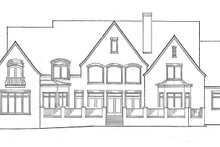 House Plan Design - Country Exterior - Rear Elevation Plan #453-238