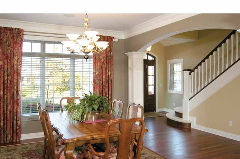 Traditional Interior - Dining Room Plan #928-222 - Houseplans.com
