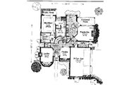 Colonial Style House Plan - 4 Beds 3.5 Baths 2811 Sq/Ft Plan #310-722 Floor Plan - Main Floor