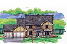 House Plan Design - Colonial Exterior - Front Elevation Plan #51-1010