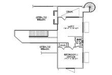 Floor Plan - Upper Floor Plan Plan #5-461