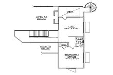 Floor Plan - Upper Floor Plan Plan #5-461