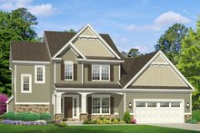 Traditional Exterior - Front Elevation Plan #1010-118