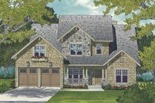 Architectural House Design - Craftsman Exterior - Front Elevation Plan #453-510