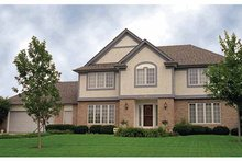 Traditional Exterior - Front Elevation Plan #51-880