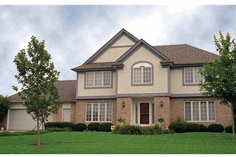 Traditional Exterior - Front Elevation Plan #51-880 - Houseplans.com