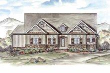 Home Plan - Craftsman Exterior - Front Elevation Plan #54-262