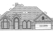 Home Plan - Ranch Exterior - Front Elevation Plan #42-514