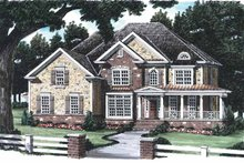 Home Plan - Country Exterior - Front Elevation Plan #927-641