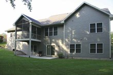 House Plan Design - Craftsman Exterior - Rear Elevation Plan #928-132