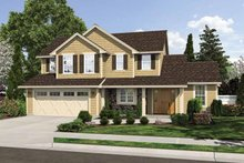 Traditional Exterior - Front Elevation Plan #46-810