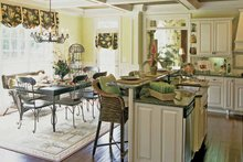 Dream House Plan - Country Interior - Kitchen Plan #927-854