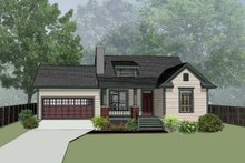 Country Exterior - Front Elevation Plan #79-164