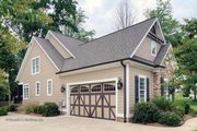 European Style House Plan - 3 Beds 2.5 Baths 2193 Sq/Ft Plan #929-34 Exterior - Other Elevation