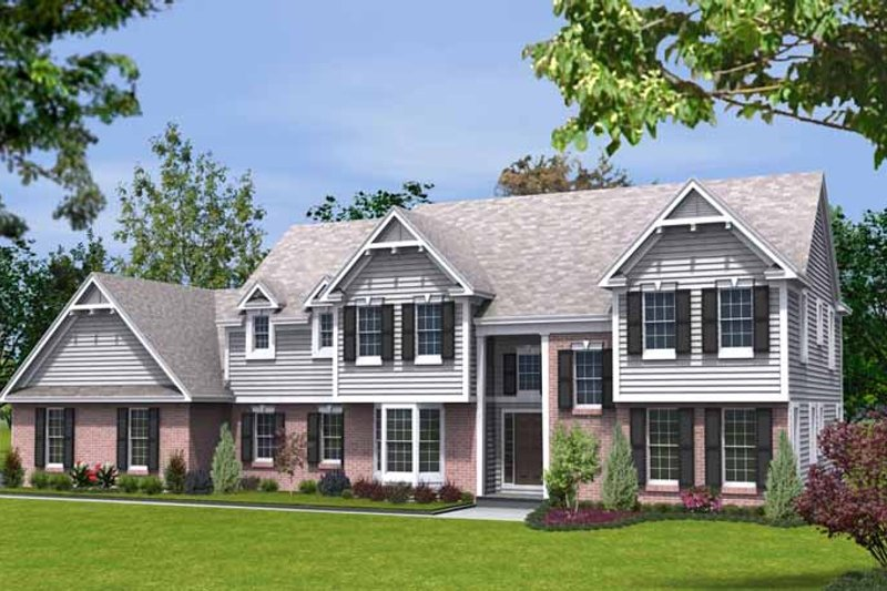 Traditional Exterior - Front Elevation Plan #328-451