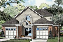 House Plan Design - Traditional Exterior - Front Elevation Plan #17-3059