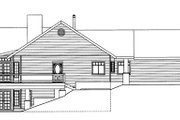 Ranch Style House Plan - 2 Beds 3 Baths 3871 Sq/Ft Plan #117-840 Exterior - Other Elevation