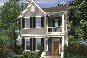 Home Plan - Contemporary Exterior - Front Elevation Plan #48-868