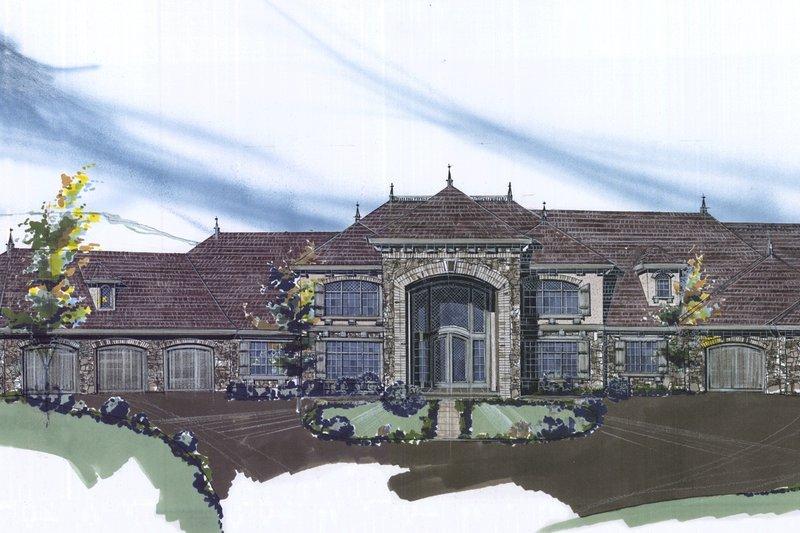 Exterior - Front Elevation Plan #509-70