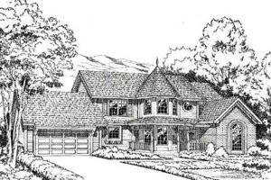 Traditional Exterior - Front Elevation Plan #312-122