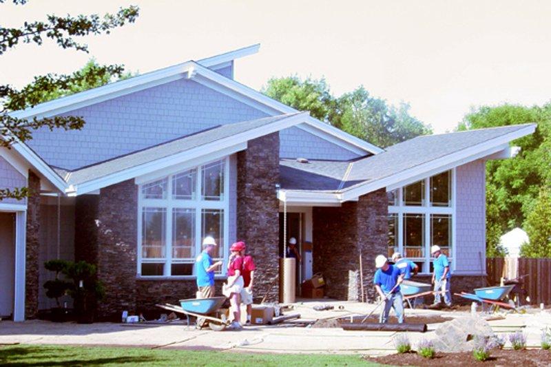 Modern Exterior - Other Elevation Plan #509-9 - Houseplans.com