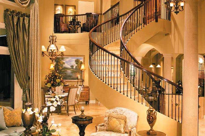 Mediterranean Interior - Family Room Plan #930-330 - Houseplans.com