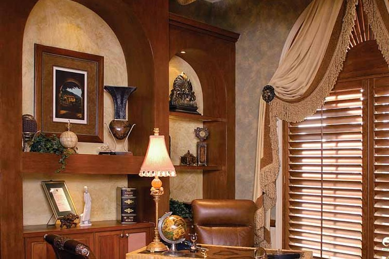 Mediterranean Interior - Other Plan #1017-2 - Houseplans.com