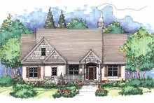 House Plan Design - Craftsman Exterior - Front Elevation Plan #929-428