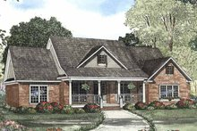 House Plan Design - Country Exterior - Front Elevation Plan #17-3039