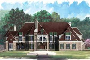 House Design - European Exterior - Front Elevation Plan #119-211