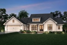 House Blueprint - Farmhouse Exterior - Front Elevation Plan #430-245