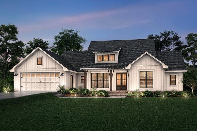 House Design - Farmhouse Exterior - Front Elevation Plan #430-245