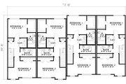 Traditional Style House Plan - 2 Beds 2.5 Baths 5456 Sq/Ft Plan #17-1173 Floor Plan - Upper Floor Plan