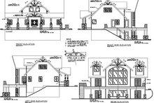 Modern Exterior - Rear Elevation Plan #117-458