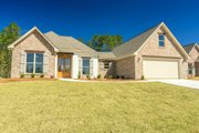European Style House Plan - 3 Beds 2 Baths 1884 Sq/Ft Plan #430-110 Exterior - Front Elevation