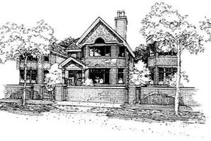 Traditional Exterior - Front Elevation Plan #50-224