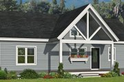Victorian Style House Plan - 3 Beds 2 Baths 1412 Sq/Ft Plan #932-409