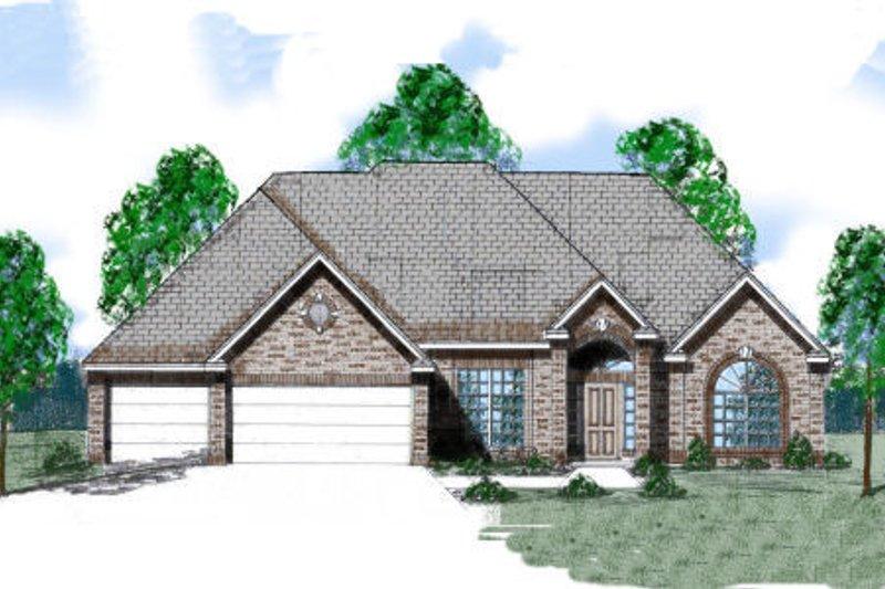 Dream House Plan - European Exterior - Front Elevation Plan #52-165