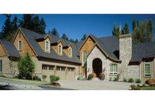 Dream House Plan - European Exterior - Other Elevation Plan #48-358